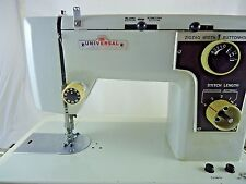 Universal Sewing Machine Model k-200 With Carrying Case ZIGZAG,Button Hole