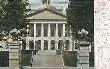 Augusta Maine ME State House c1909 Vintage Postcard