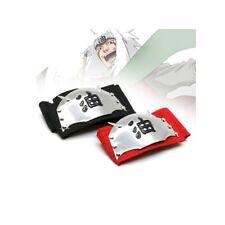Cheap Naruto Jiraiya Cosplay Headband Accessory Red Tenia Halloween Accessory