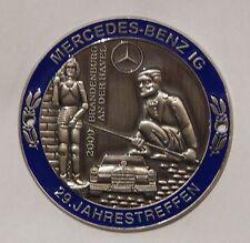 MBIG Plakette 29.Mercedes Jahrestreffen Brandenburg 2009  W120 W121 W128 W110