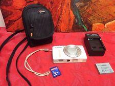 Canon PowerShot SX600 HS 16.0MP Digital Camera - White