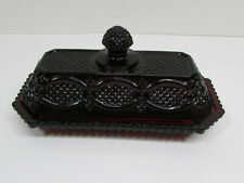 Anchor Hocking Avon 1876 Cape Cod Collection Covered Butter Dish - Excellent