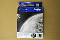 Cartouche d'Encre Original Origine BROTHER LC1000-BK Noir 07/2013 Black Genuine