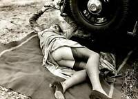 Antique Roadside Repair Photo 766 Oddleys Strange & Bizarre
