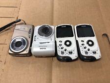 4 X Lot Kodak Play Sport Zx3 EasyShare M550 C1530 Waterproof Camera As Is