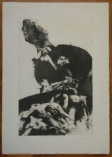 PIERO GUCCIONE acquaforte acquatinta del 1961 titolata ''DETERRENT'' (39)