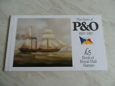 Gb stamp booklet the story of P & O 1837 - 1987
