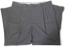 $295 Zanella Dark Grey Dress Pants size 38 A071