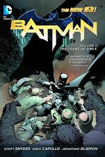 Batman: Court of Owls, City of Owls & Night of Owls HCs by Snyder & Capullo N52
