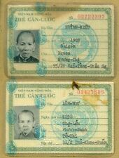 Vietnam War ID Card 1969 Pair #8