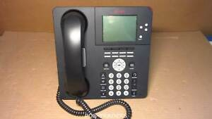 Avaya 9650 IP Business/Office VoIP Telephone Phone Black INCL HANDSET + STAND