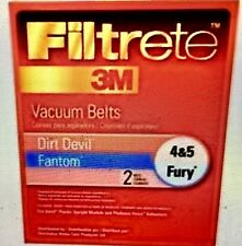 DIRT DEVIL STYLE 4/5 BELT PK2 Eureka Company Vacuum Belts 65045-12 023169121485