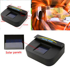 Solar Power Car Vehicle Window Air Vent Cooler Ventilation System Exhaust Fan