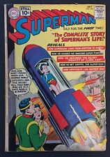 Superman #146 4.0/Very Good July 1961 DC Comics Superman's Life Story
