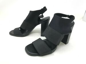 Womens Simply Vera (112913) Candles black High Heel Sandals (417H)