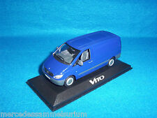 Mercedes Benz Vito 109 CDI 2003 Box truck/Panel Van Blue/Blue 1:43 New/New