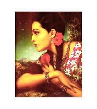 accent wall bedroom calendar girls Mexican retro art poster