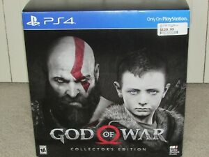 NIB sealed God of War Collectors Edition for PS4 PlayStation 4