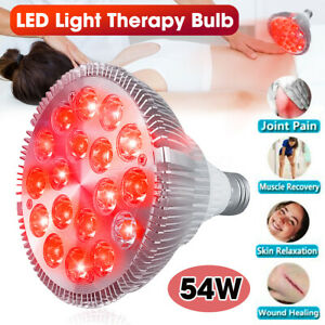 54W Therapy Light Panel Red & Near 660nm 850nm LED Infrared Therapy Lam