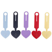Travel Accessories Simple Love Heart Fashion Design Leather ID Address HoldeNWUS