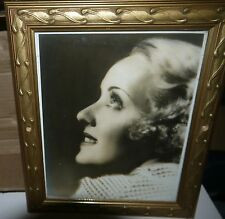 Vintage Early B&W Movie Photo of Bette Davis & Her Famous Eyes Circa 1930's RARE