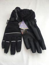 BNWT Serious Black  Snow Boarding Men's Gloves SZ Large  #133