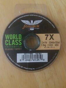 Fenwick World Class 7X 2.41lb .0046in 50yd Fishing Line