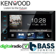 "Kenwood DMX-5019DABS 6.2"" Double Din Screen Bluetooth Android iPhone Car Stereo"