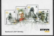Guernsey-Beethoven-Music Special min sheet mnh 2020