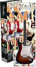 "NEW Aquarius Fender Stratocaster Guitar 1000 Piece Slim Jigsaw Puzzle - 12""x 36"""