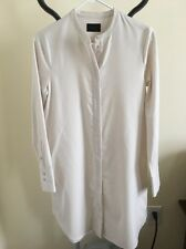 NWT J Crew Collection Wool Tunic Dress  Ivory Sz 2 E3233