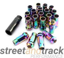 Steel Lug Nuts Stahl Radmuttern NEO-CHROM M12x1.25 Nissan, Subaru, Suzuki,etc. J