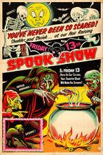 "Spook Show Late 1940s 13x19"" Photo Print"