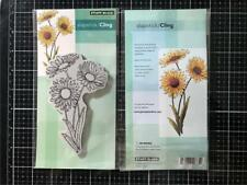 New Penny Black Rubber Stamp Cling DAISIES FLOWERS Free USA ship