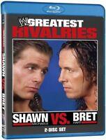NEW - WWE: Greatest Rivalries - Shawn Michaels vs. Bret Hart [Blu-ray]