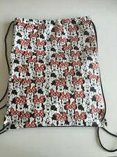 Disney Minnie Mouse Red & Black School Bag Swim Bag BackPack Rucksack College