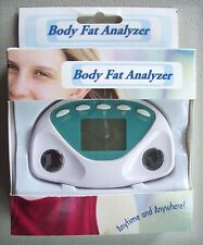Personal Body Fat Control Analyzer Anytime Anywhere New in Box