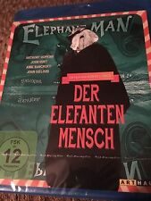 The Elephant Man (Blu Ray Region Free) Factory Sealed FAST SHIPPING
