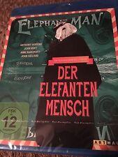 The Elephant Man (Blu Ray Region Free) Factory Sealed FAST SHIPPING