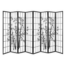 Artiss 8 Panel Room Divider Screen Privacy Dividers Pine Wood Stand Shoji Bamboo