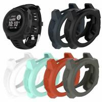 Replacement Silicone Protective Case Shell for Garmin Instinct Smart Sport Watch