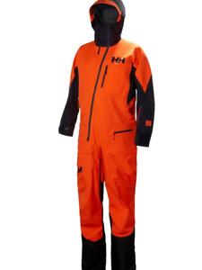 Helly Hansen 65565-278 Men's Ullr Powder Suit, Neon Orange - 2XL