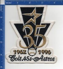 Authentic MLB- Houston Astros Colt .45 35th Anniversary patch NOS 1996