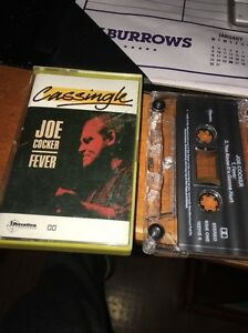 JOE COCKER FEVER CASSINGLE Cassette Tape