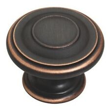 "P22669-VBC 1 3/8"" Bronze Copper Highlights Harmon Cabinet Drawer Knob"