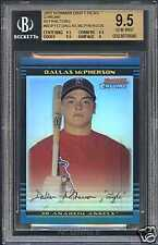 "BGS 9.5 2002 Bowman Chrome Draft ""Refractor"" DALLAS MCPHERSON RC #'d/300"
