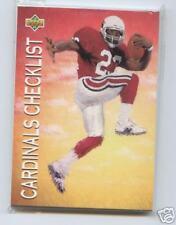1993 Upper Deck Phoenix Cardinals Team Set