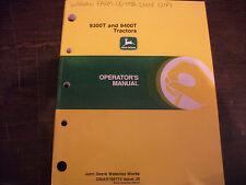 John Deere 9300T 9400T Tractor Operators Manual Omar165773