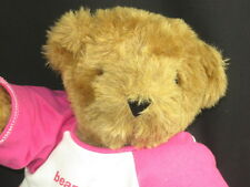 BIG EXPECTING MOTHERS BAREFOOT & PREGNANT VERMONT TEDDY BEAR PINK T-SHIRTS PLUSH