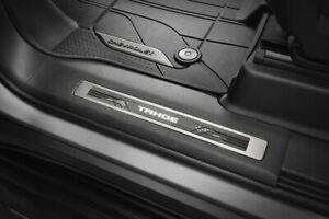 2021 Chevrolet Tahoe Illuminated Door Sill Plate Pkg 84446036 w/ Tahoe Script OE